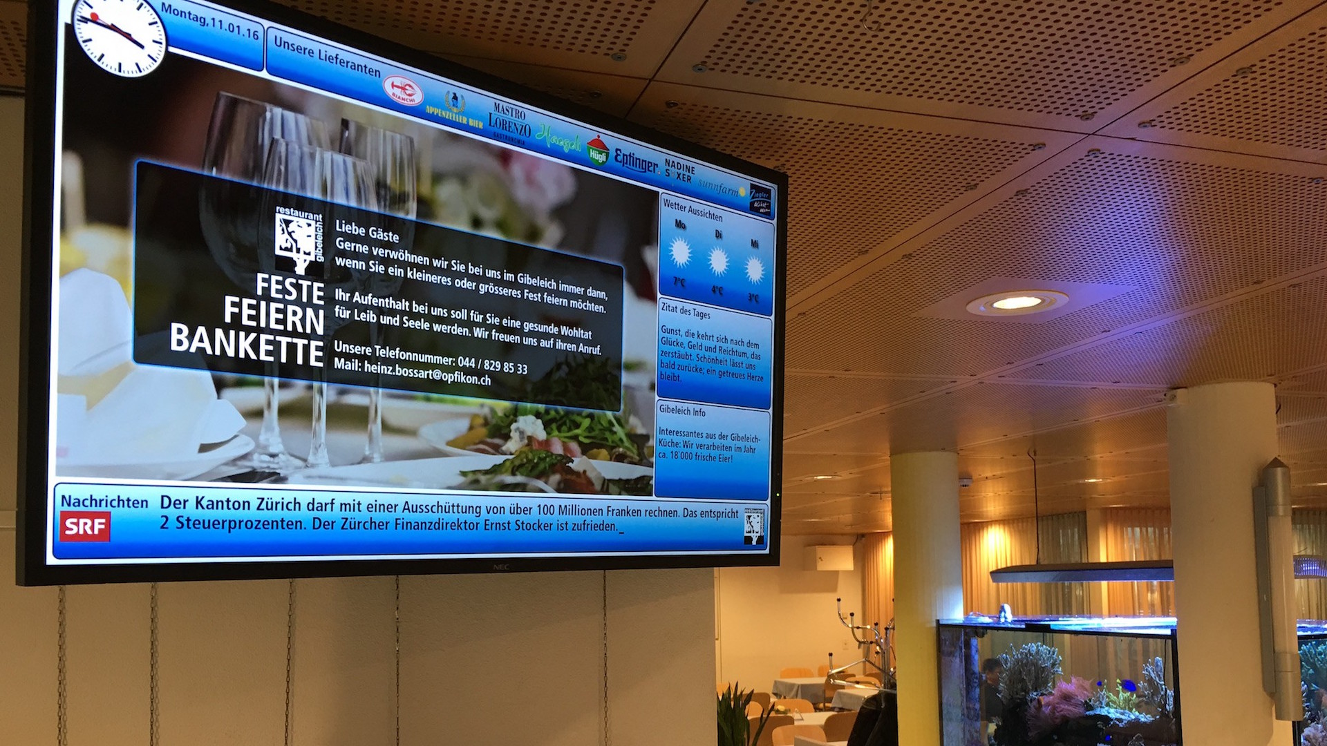 news digital signage 1